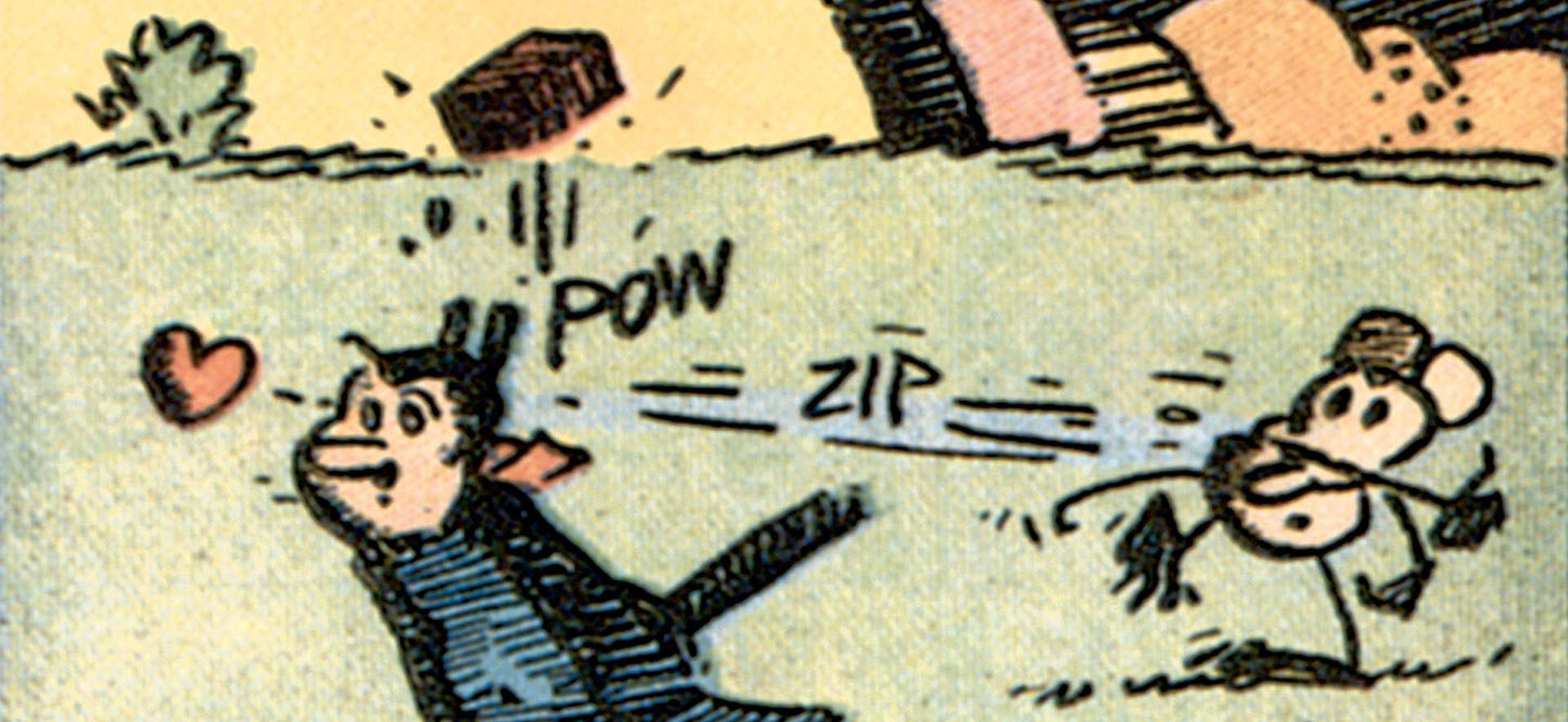 Also not name of george herrimans comic strip the excellent