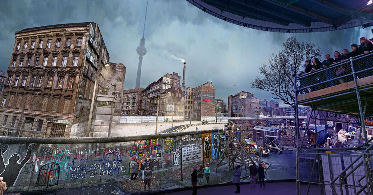 Share yadegar asisi the wall die mauer panorama berlin 2017 copyright asisi